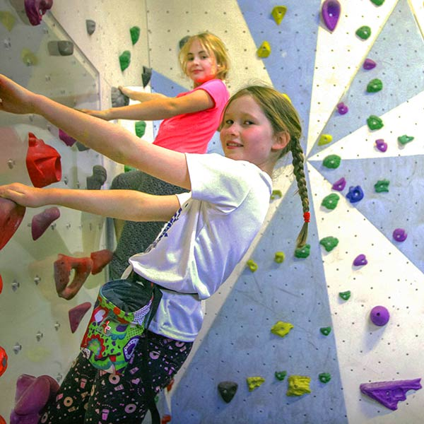 Children's climbing courses